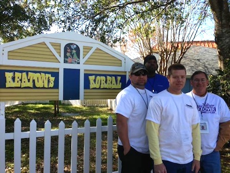 Gilmore Services Gives Back and Gives Kids The World