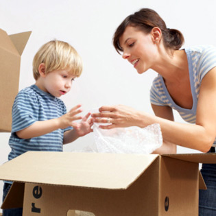 How to Help Children Cope with a Household Move
