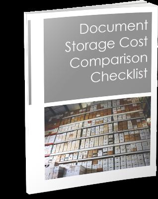 Document Storage Cost Comparison Checklist