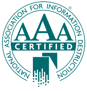 NAID AAA Certification for Document Shredding?