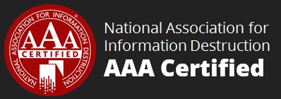 National Association for Information Destruction AAA Certified