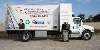 Scheduled Shredding Service Gilmore Services