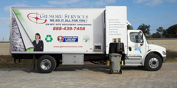 Scheduled Shredding Service Gilmore Services