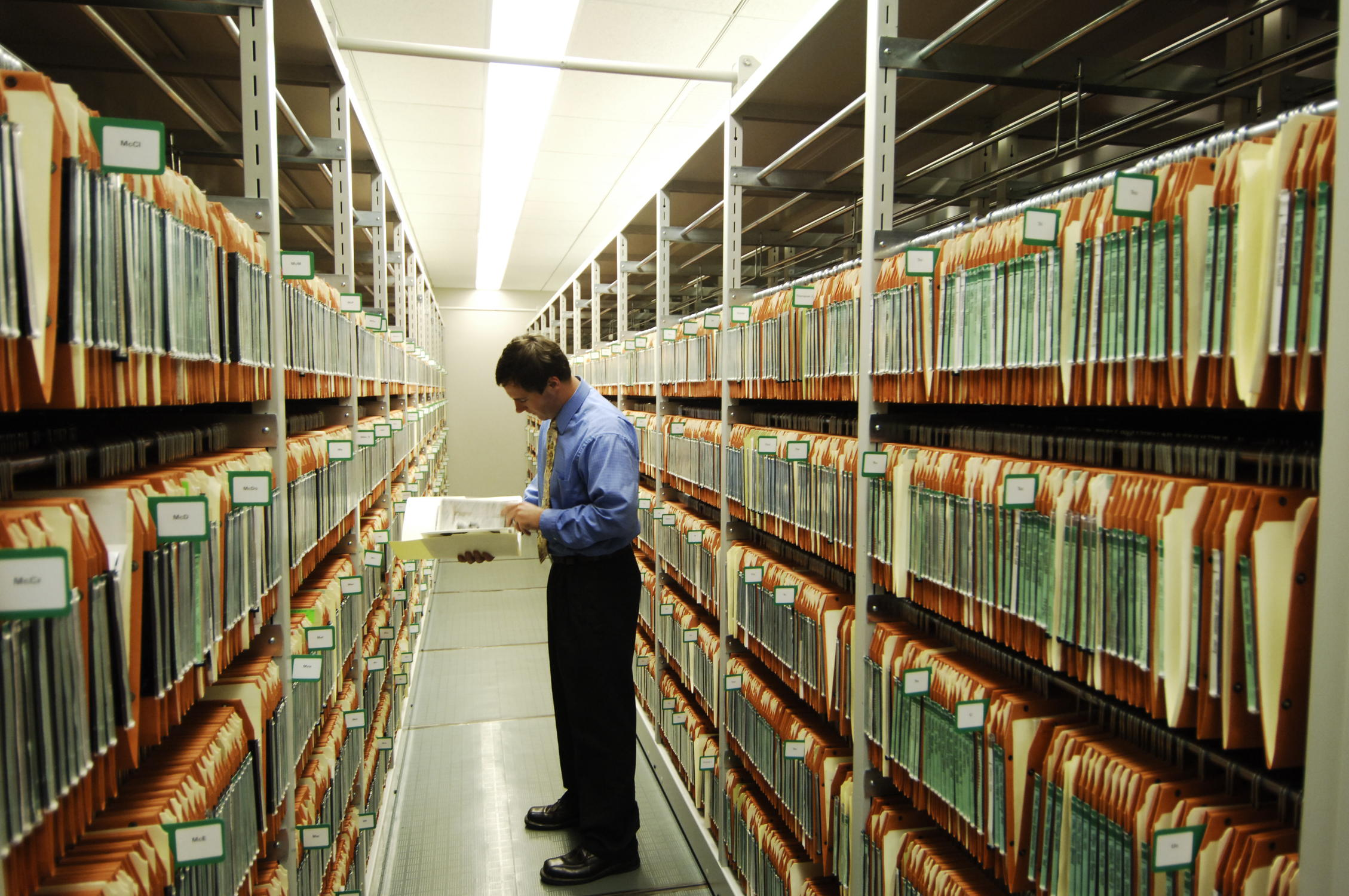 Document Storage Facility