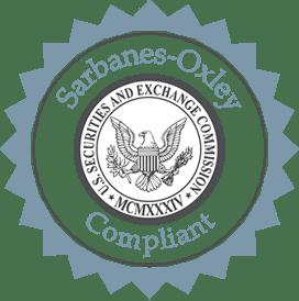 Sarbanes-Oxley Compliant