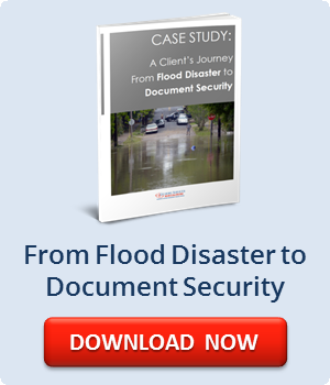 From Flood Disaster to Document Security